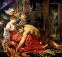 Peter Paul Rubens - Samson and Delilah, c.1609
