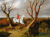 John Frederick Herring - The Suffolk Hunt - Gone Away