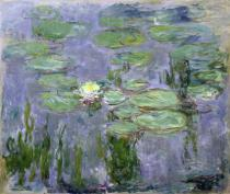 Claude Monet - Waterlilies, 1915