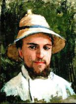 Gustave Caillebotte - Self Portrait with Pith Helmet