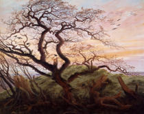Caspar David Friedrich - The Tree of Crows, 1822