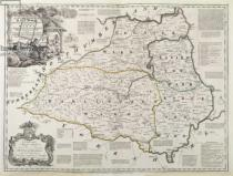 Thomas Kitchin - Map of Durham, 1777