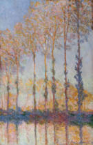 Claude Monet - Poplars on the Banks of the Epte, 1891