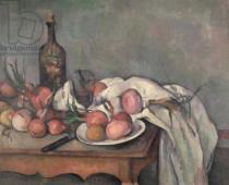 Paul Cézanne - Still Life with Onions, c.1895