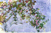 Claude Monet - The Roses, 1925-26