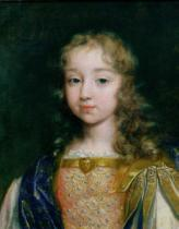 French School - Portrait of the Infant Louis XIV (1638-1715)