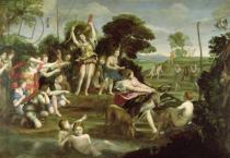 Domenichino - The Hunt of Diana, 1616-17