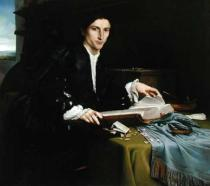 Lorenzo Lotto - Portrait of a Gentleman in his Study, 1528-30