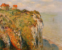 Claude Monet - Cliff at Dieppe, 1882