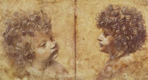 Leonardo da Vinci - Study of a child's head