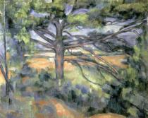 Paul Cézanne - The Large Pine, 1895-97