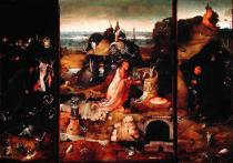 Hieronymus Bosch - Altarpiece of the Hermits