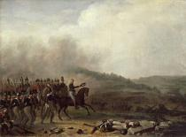 Mathieu-Ignace van Brée - Willem Frederik (1772-1843) Prince of Orange at the Battle of Quatre Bras, 16th June 1815