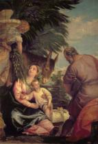 Paolo Veronese - Rest on the Flight into Egypt