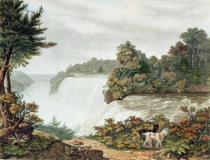 William James Bennett - Niagara Falls, from Goat Island