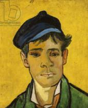 Vincent van Gogh - Young Man with a Hat, 1888