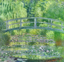 Claude Monet - The Waterlily Pond: Green Harmony, 1899