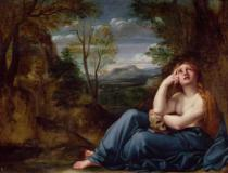 Annibale Carracci - Mary Magdalene in a Landscape, c.1599