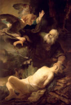 Harmensz van Rijn Rembrandt - The Sacrifice of Abraham, 1635