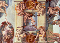 Michelangelo Buonarroti - Sistine Chapel Ceiling (1508-12): The Creation of Eve, 1510