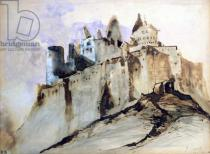 Victor Hugo - The Chateau of Vianden, 1871