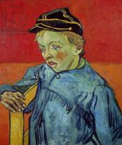 Vincent van Gogh - The Schoolboy, 1889-90