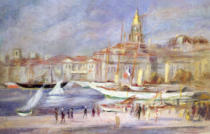 Pierre Auguste Renoir - The Old Port of Marseilles, c.1912