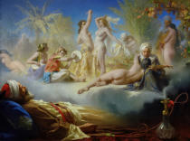Achille Zo - The Dream of the Believer, c.1870