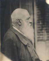 French Photographer - Claude Monet (1841-1926) early 20th century