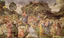 Cosimo Rosselli - The Sermon on the Mount, from the Sistine Chapel, c.1481-83