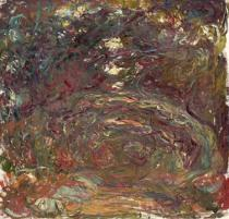 Claude Monet - The Rose Path, 1920-22