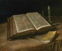 Vincent van Gogh - Still Life with Bible, 1885