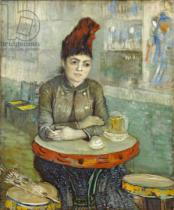 Vincent van Gogh - Woman in the 'Cafe Tambourin', 1887