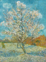 Vincent van Gogh - The Pink Peach Tree, 1888