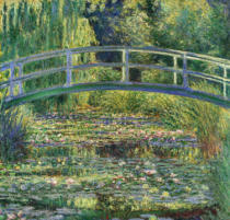 Claude Monet - The Water Lily Pond and Bridge, 1899