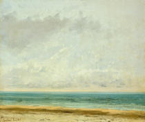 Gustave Courbet - Calm Sea, 1866
