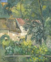 Paul Cézanne - House of Père Lacroix, 1873