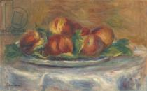 Pierre Auguste Renoir - Peaches on a Plate, 1902-5