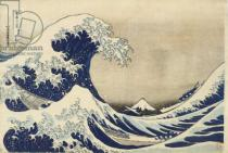 Katsushika Hokusai - The Great Wave off Kanagawa from the Series Thirty Six Views of Mount Fuji, c.1830-1