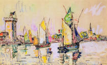 Paul Signac - Sailing Boats at Les Sables-d'Olonne