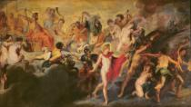 Peter Paul Rubens - The Medici Cycle: Council of the Gods for the Spanish Marriage, 1621-25