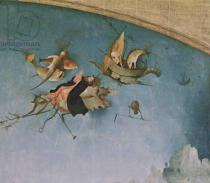 Hieronymus Bosch - Detail of the left-hand panel, from the Triptych of the Temptation of St. Anthony  (detail of 159327)