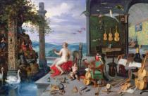 Jan Brueghel der Ältere - Allegory of Music