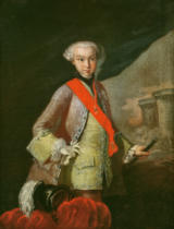 French School - Portrait of Louis Antoine Henri de Bourbon Conde (1772-1804) Duke of Enghien