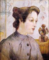 Paul Gauguin - Portrait of a Young Woman, 1886