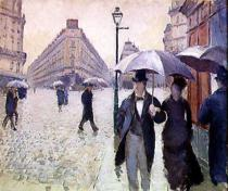 Gustave Caillebotte - Paris, a Rainy Day, 1877