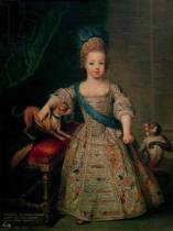 Pierre Gobert - Louis XV (1710-74) as a child, 1714