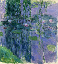Claude Monet - Nympheas, 1916-19