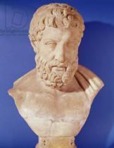 Greek School - Bust of Metrodorus of Chios