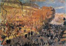 Claude Monet - Study for 'The Boulevard des Capucines', 1874